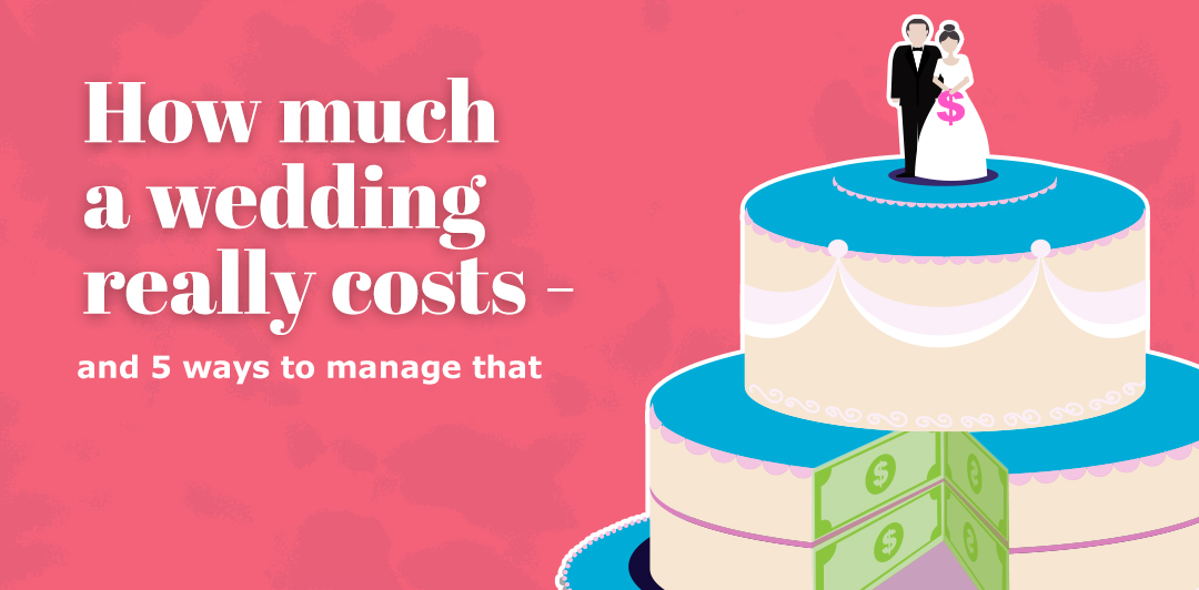 How much a wedding really costs